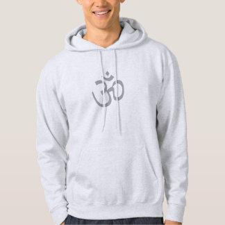 OHM, OM Namaste Yoga, Smoke Grey Hoodie