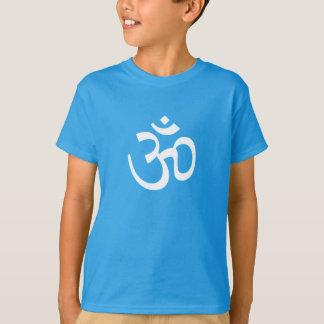 OHM, OM Namaste Yoga, Swan White T-Shirt