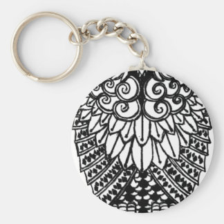 Ohm Owl Key Ring