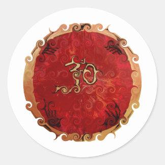 Ohm Products Round Sticker