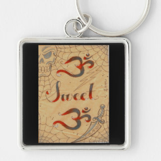 Ohm sweet Ohm keys by Dana Tyrrell Key Ring
