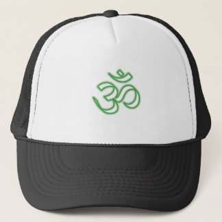 Ohm Symbol Trucker Hat
