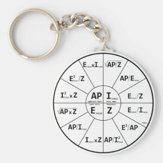 Ohms Law for AC Key Ring