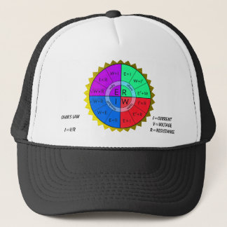 OHM'S LAW-HAT TRUCKER HAT