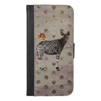 OKAPI & ANTLER OWL iPhone 6/6S PLUS WALLET CASE
