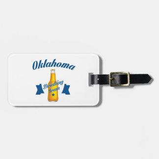 Oklahoma Drinking team Luggage Tag