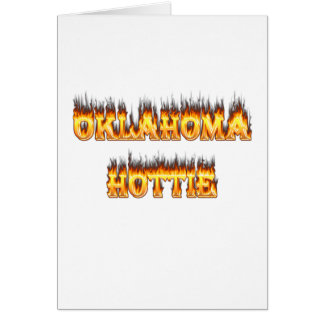 oklahoma fire and flames card
