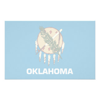 Oklahoma Flag Stationery
