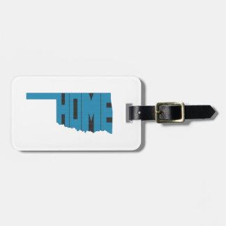 Oklahoma HOME State Luggage Tag