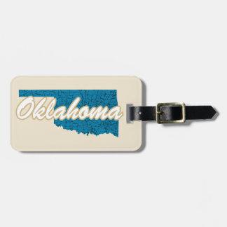 Oklahoma Luggage Tag
