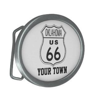 Oklahoma Route 66 Belt Buckles on sale