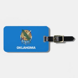 Oklahoma State Flag Luggage Tag