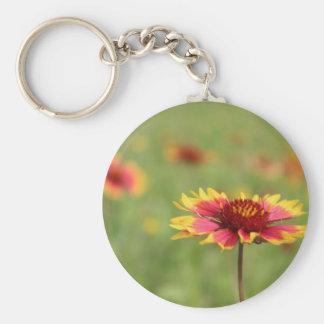 Oklahoma State Wildflower Keychain