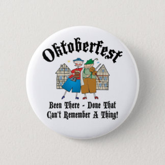 Oktoberfest Been There 2¼ Inch Round Button