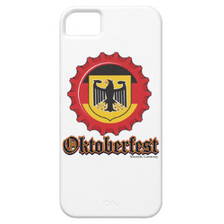 Oktoberfest Bottle Cap Barely There iPhone 5 Case