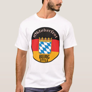 Oktoberfest - Burg Style T-Shirt