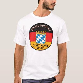 Oktoberfest Customizable T-Shirt