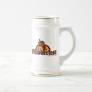 Oktoberfest Dachshund Beer Stein