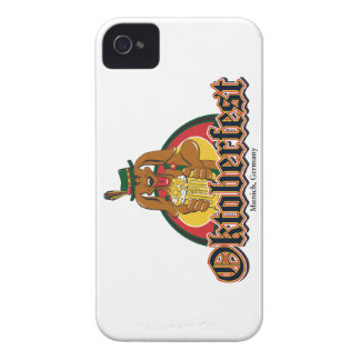 Oktoberfest Doxie Beer iPhone 4 Covers