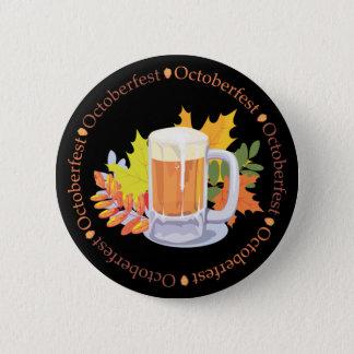 Oktoberfest in the Round 6 Cm Round Badge