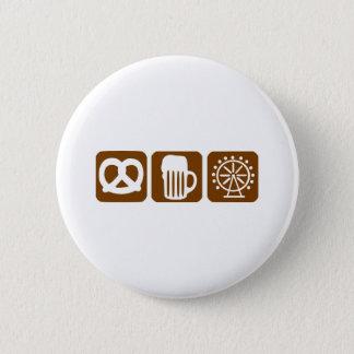 Oktoberfest - Munich 6 Cm Round Badge