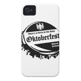 Oktoberfest Party in the Haus iPhone 4 Covers