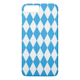 Oktoberfest pattern with fabric texture iPhone 8 plus/7 plus case