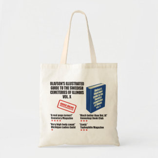 Olafson's Illustrated Guide Tote Bag