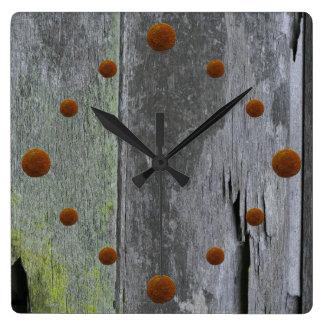 Old Barn Wood Wall Clock
