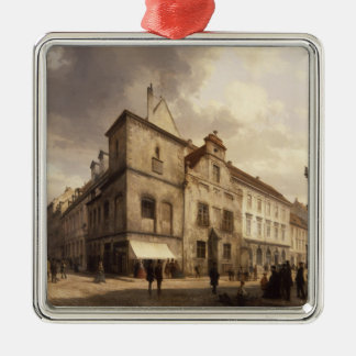 Old Berlin City Hall, 1867 Christmas Ornament