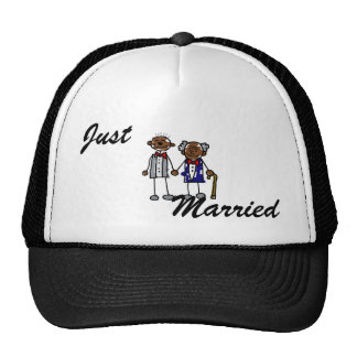 Old Black Gay Couple Cap