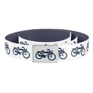 Old blue bike belt