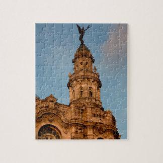 Old building Spire, Havana, Cuba Jigsaw Puzzle
