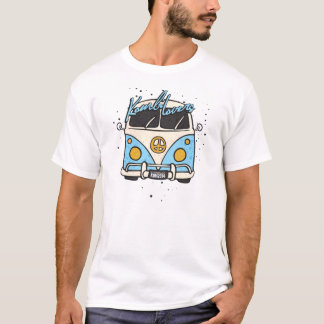 old car - blue T-Shirt
