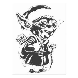 Old Christmas Elf Postcard