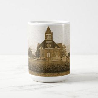Old Country Church Basic White Mug