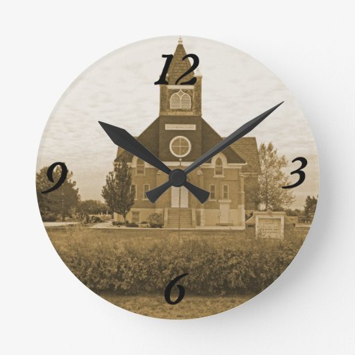 Old Country Church Clock