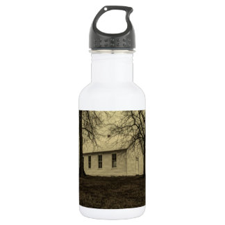 Old country church in the fall time. 532 ml water bottle
