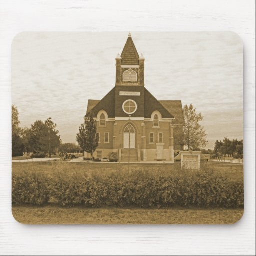 Old Country Church Mousepad