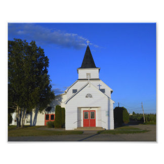 Old Country Church Photo Print