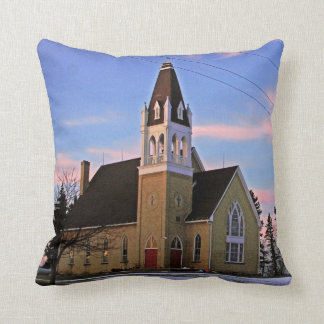 Old Country Church Pillow