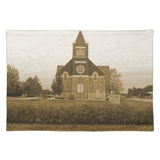 Old Country Church Place Mat