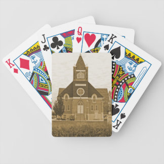 Old Country Church Poker Deck