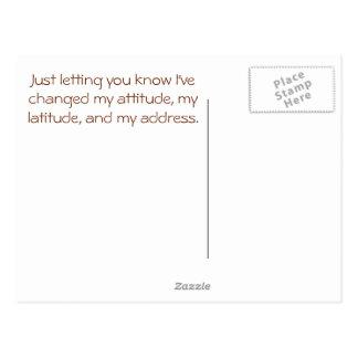 Old Doors, New Future - address change postcards