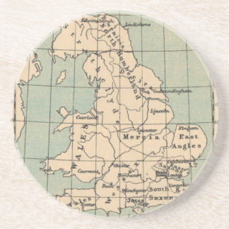 Old England Map Coaster