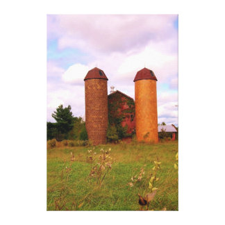 Old Farm in Goochland Va Gallery Wrapped Canvas