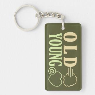 Old Fart custom key chain