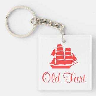 Old Fart Key Ring