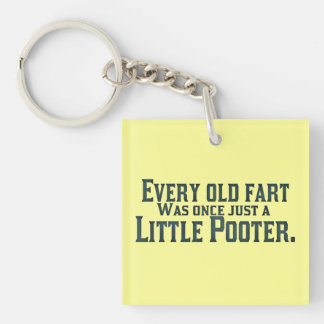 Old Fart - Little Pooter Key Ring