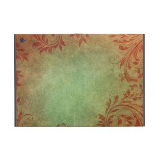 Old Fashion Leaf pattern Cover For iPad Mini